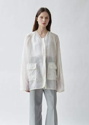 Jil Sander Greenwhich Silk Organdy Jacket