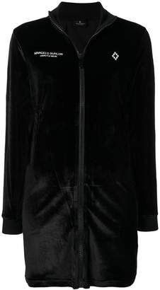 Marcelo Burlon County of Milan fitted silhouette dress