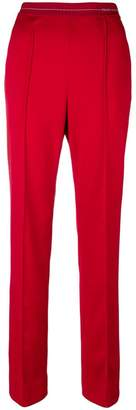 Prada logo waistband track pants