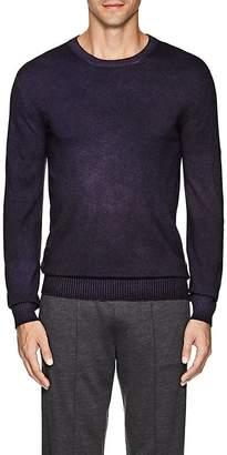 Ermenegildo Zegna Men's Mélange Cashmere Crewneck Sweater