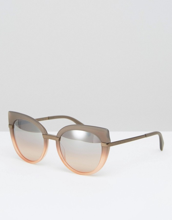 Marc By Marc JacobsMarc By Marc Jacobs Mirro Lens Cat Eye Sunglasses