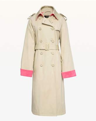 Juicy Couture Microterry Lined Trench Coat