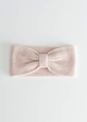 And other stories Cashmere Bow Headband