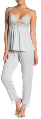 Eberjey Elvia Slim Pajama Pants