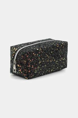 Ardene Coarse Glitter Makeup Bag