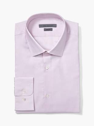 John Varvatos Trim Fit Dress Shirt W/ Hendrix Collar
