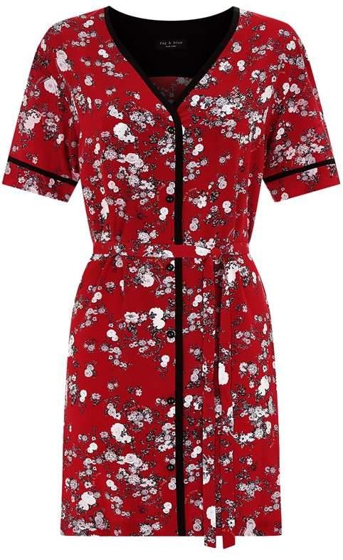 Zac Floral Shirt Dress