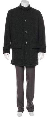 Polo Ralph Lauren Button-Up Knee-Length Coat