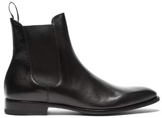 Dunhill Leather Chelsea Boots - Mens - Black