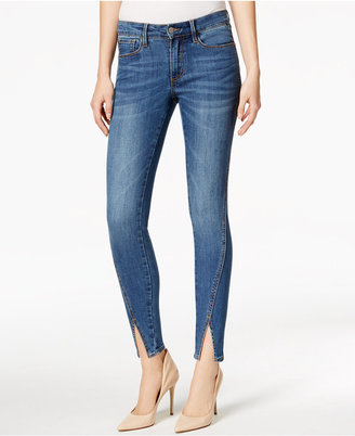 Buffalo David Bitton Hope Split-Hem True Blue Wash Skinny Jeans $79 thestylecure.com
