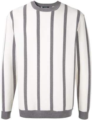 GUILD PRIME striped fitted sweater