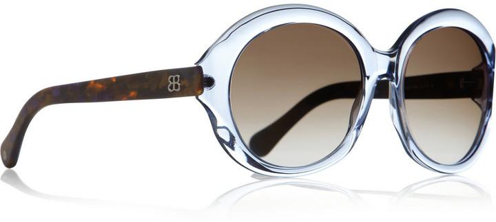 Balenciaga Round-frame acetate sunglasses