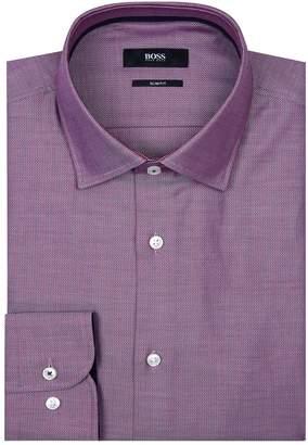 HUGO BOSS Micro Birdseye Print Shirt