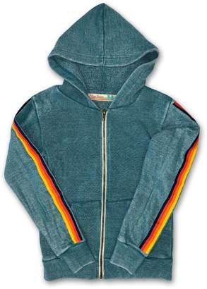 Vintage Havana Rainbow Stripe Hoody