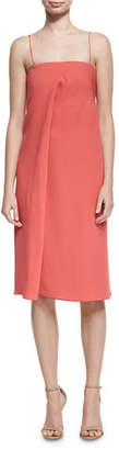 Derek Lam Draped Silk Cami Dress, Pink