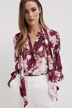 Witchery Floral Print Blouse