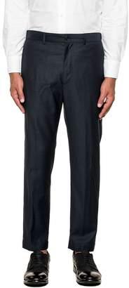 Mauro Grifoni Night Blue Wool Trousers