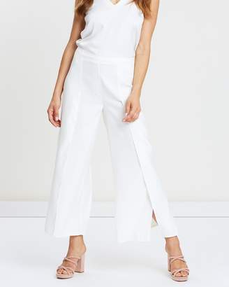 Wallis High Twist-Overlay Culotte Trousers