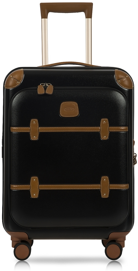 Bric's Bellagio Business V2.0 21′′ Black-Tobacco Carry-On Spinner