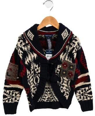 Ralph Lauren Girls' Fair Isle Hand Knit Cardigan w/ Tags