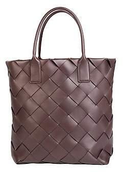 Bottega Veneta Women's Maxi Cabat Leather Tote