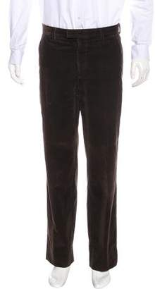 Zegna Sport Corduroy Straight-Leg Pants