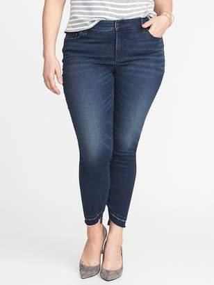 Old Navy High-Rise Secret-Slim Plus-Size Rockstar Ankle Jeans