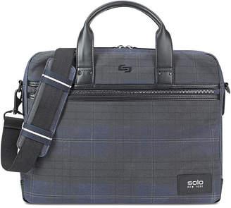 Solo Men's Bryce Printed Waxed-Cotton Briefcase