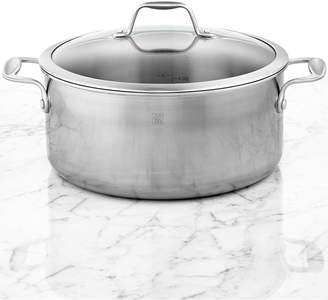 Zwilling J.A. Henckels Zwilling Spirit Polished Stainless Steel 8-Qt. Covered Dutch Oven