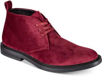 INC International Concepts I.n.c. Men Salem Velvet Chukka Boots, Men Shoes