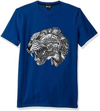 Just Cavalli Men's Printed Tee