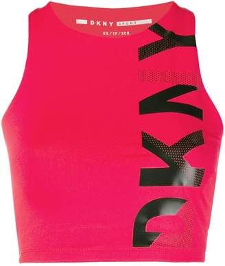 DKNY cropped sport top