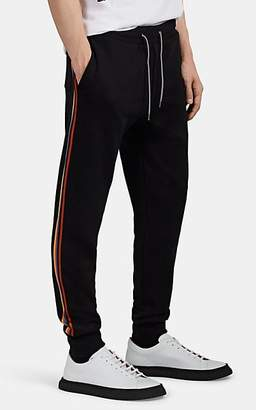 Paul Smith Men's Taped-Seam Cotton Jogger Pants - Black