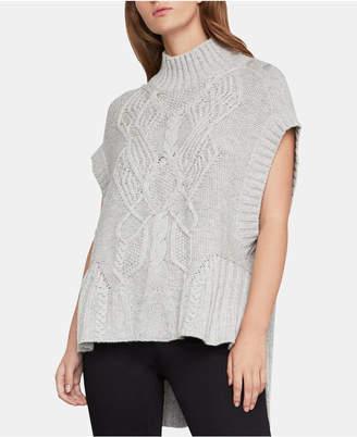 BCBGMAXAZRIA Cable-Knit Sweater Tunic