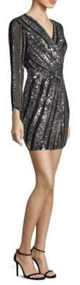 Parker Black Kelsey Wrap Dress