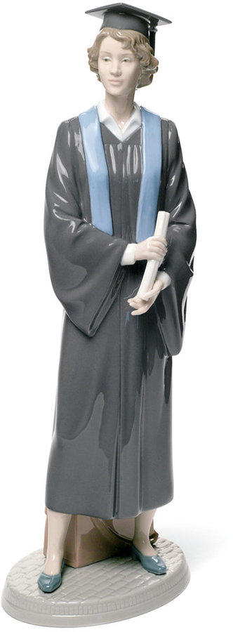 Lladro Collectible Figurine, Her Commencement