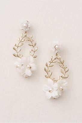 Anthropologie First Bloom Drop Earrings