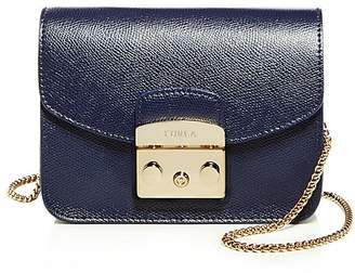 Furla Metropolis Mini Leather Crossbody $298 thestylecure.com