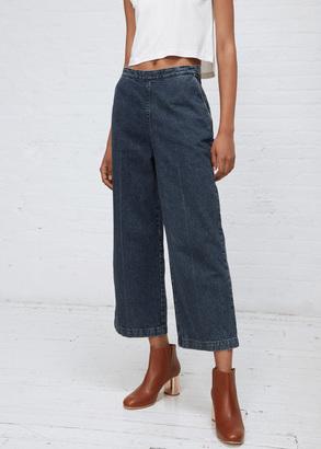 Rachel Comey indigo slim limber pants $322 thestylecure.com