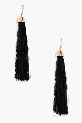 boohoo Tassel Earrings