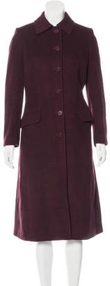 Burberry Long Wool Coat $325 thestylecure.com