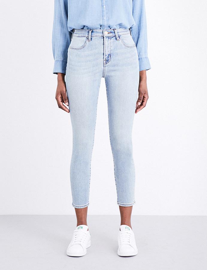J BrandJ BRAND Alana skinny high-rise jeans