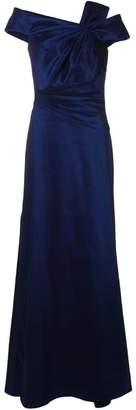 Tadashi Shoji pleated waist dress