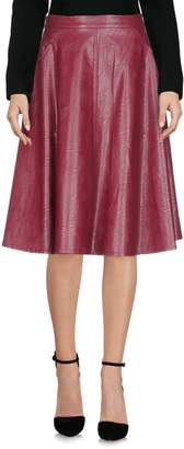 Vicolo Knee length skirts
