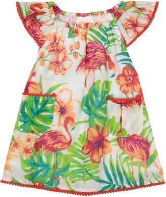 Masala Baby Flutter Flamingo Island Dress