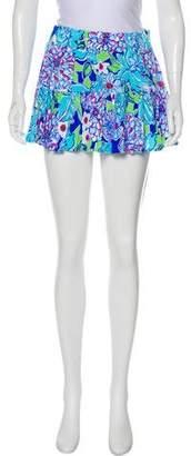 Lilly Pulitzer Elasticized Mini Skirt