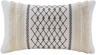 Bea Yuk Mui Inkivy Ink+Ivy Embroidered Oblong Throw Pillow
