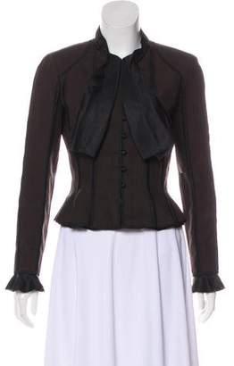 Louis Vuitton Structured Wool-Blend Blazer
