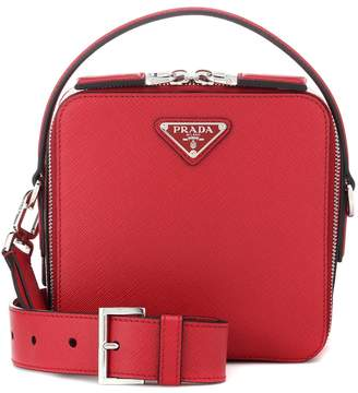 Prada Brique leather crossbody bag