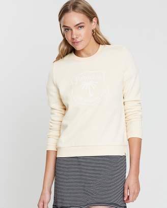 Hurley Dwellers Crew Fleece Sweater